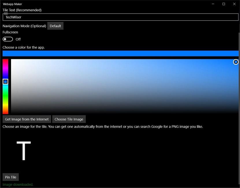 webapp maker turn website into app