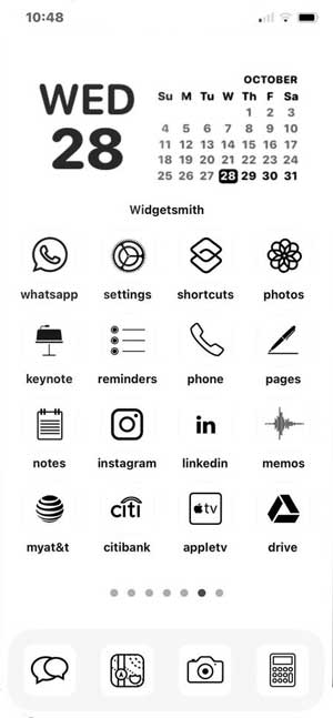 white app icon pack for iphone- ios 14 icon pack
