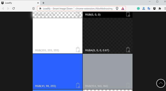Image downloader extension for Chrome