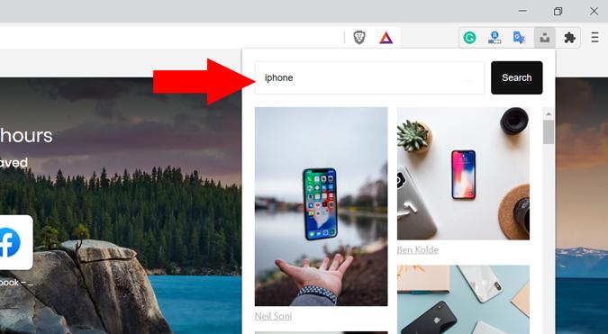 Unsplash Image Extension for Chrome