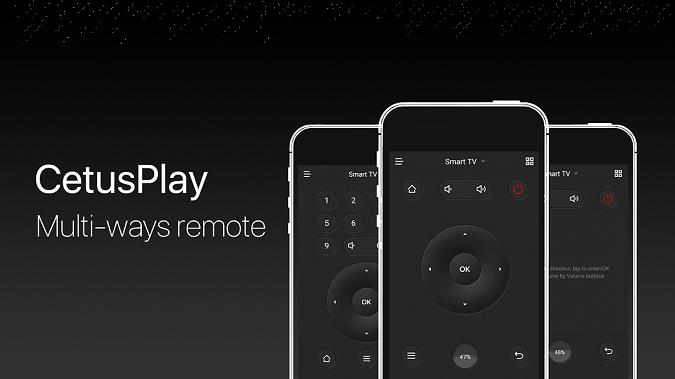CetusPlay universal remote apps