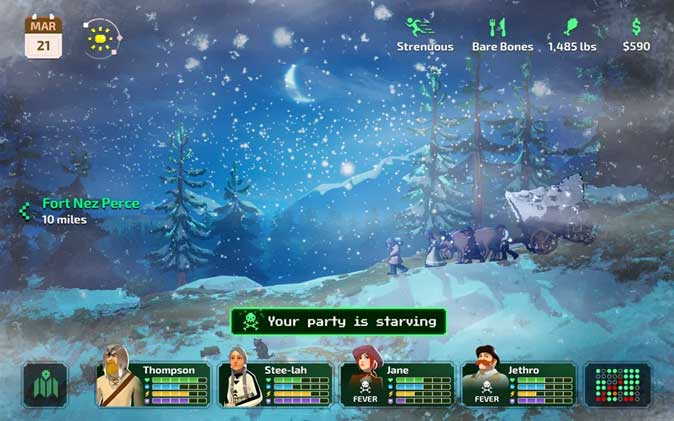 The Oregon Trail- Best Adventure game on Apple Arcade