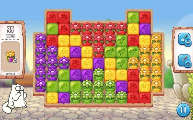 simon's cat- best apple arcade game for kids