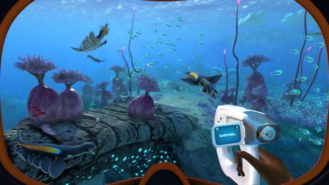 explore the underwater alien world with subnautica