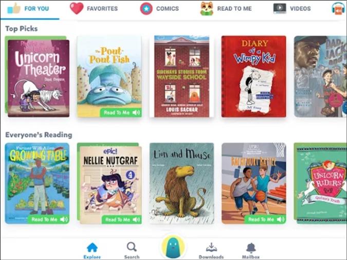 Epic: Kids' Books