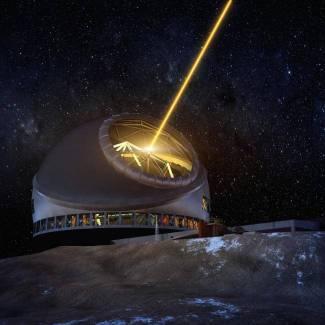 Снимка/TMT Observatory Corporation