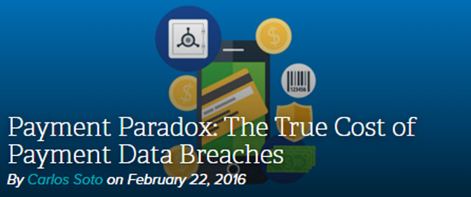 Tenable Blog: Payment Paradox – The True Cost of Payment Data Breaches