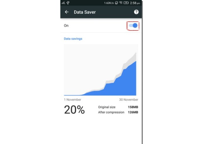 How To Save Data When Using Google Chrome In Android Mobile 4