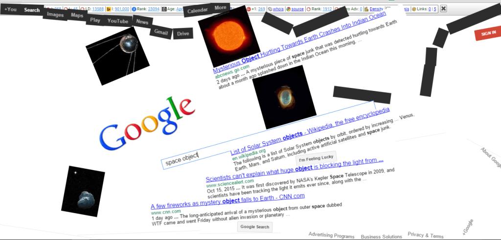 10 Best Google Gravity Tricks 5