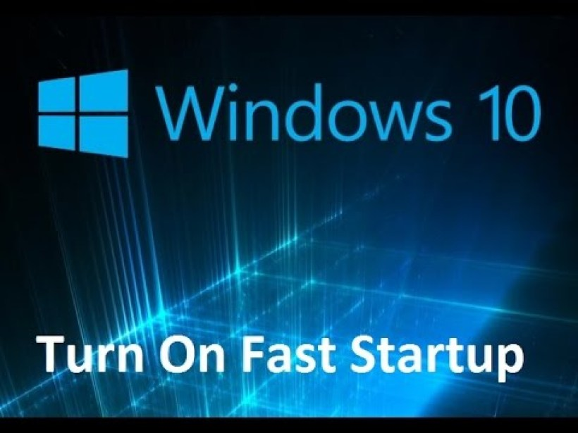 How To Enable Windows 10 Fast Startup