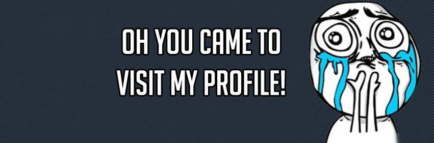 My profile visitor