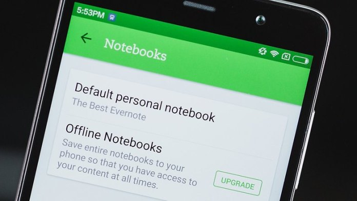 Change your default notebook