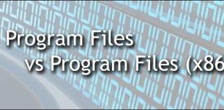 Programs Files and Program Files (x86)