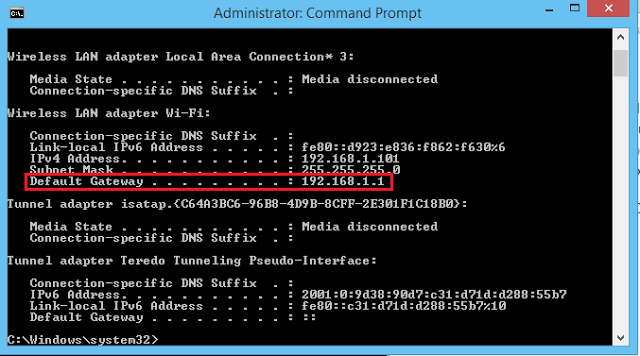 Why Home Network Is 192.168.1.1 AS Default Gateway