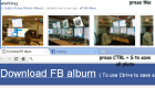 How to download all photos from a Facebook album