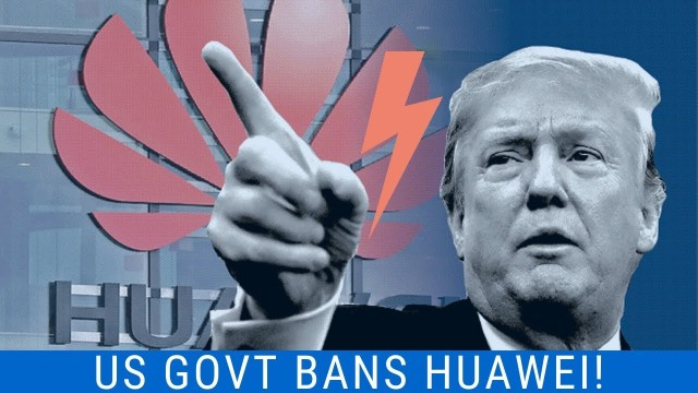 Huawei Ban flipped side and trump