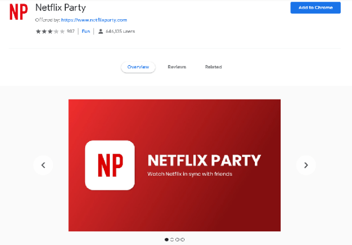 How to Watch Netflix With Your Friends Online, rave, netflix party extension, watch netflix together online