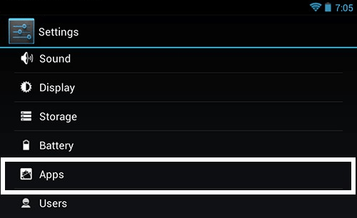 Settings app on android, How do I get rid of CQAtest app?