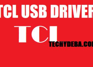 Download TCL USB Driver   Techy Deba