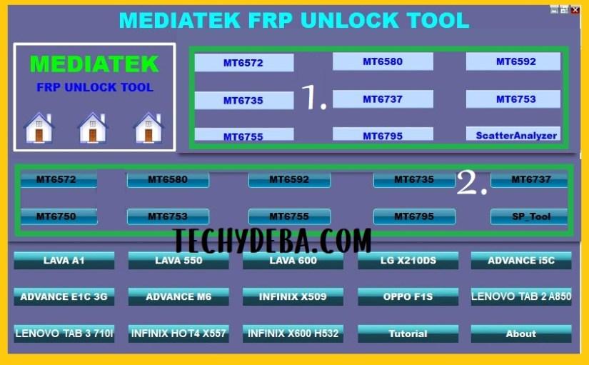 Open MTK FRP tool