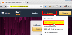 AWS Console account
