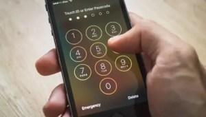 Reset passcode on iPhone