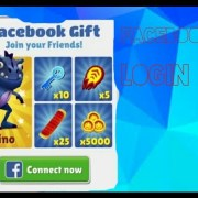 Connect facebook To Subway Surfers