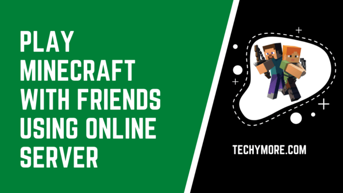 How to play Minecraft with friends on pc