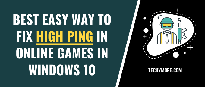 Fix High Ping In Online Games