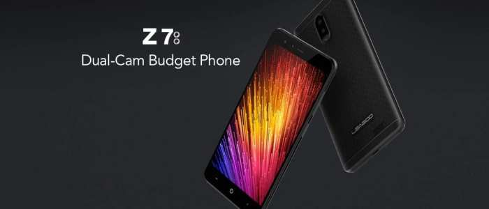 Leagoo Z7 is probably the cheapest Android phone with Dual Cameras