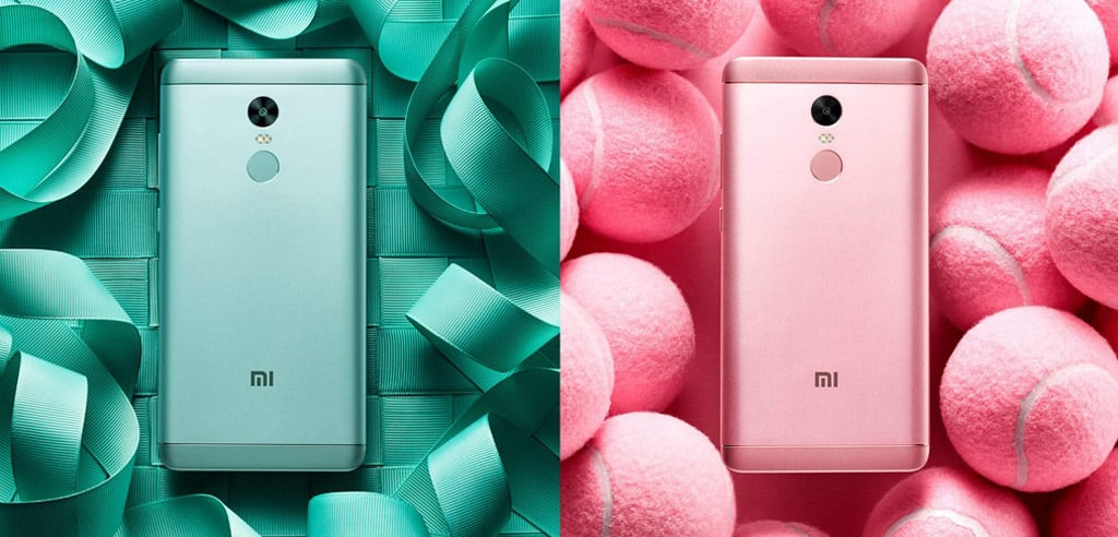 Xiaomi Redmi Note 4X Design