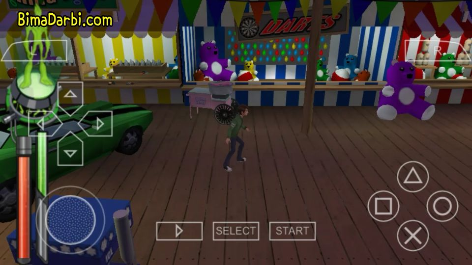 Ben 10 Alien Force is one of the best PPSSPP Games on Android Smartphones