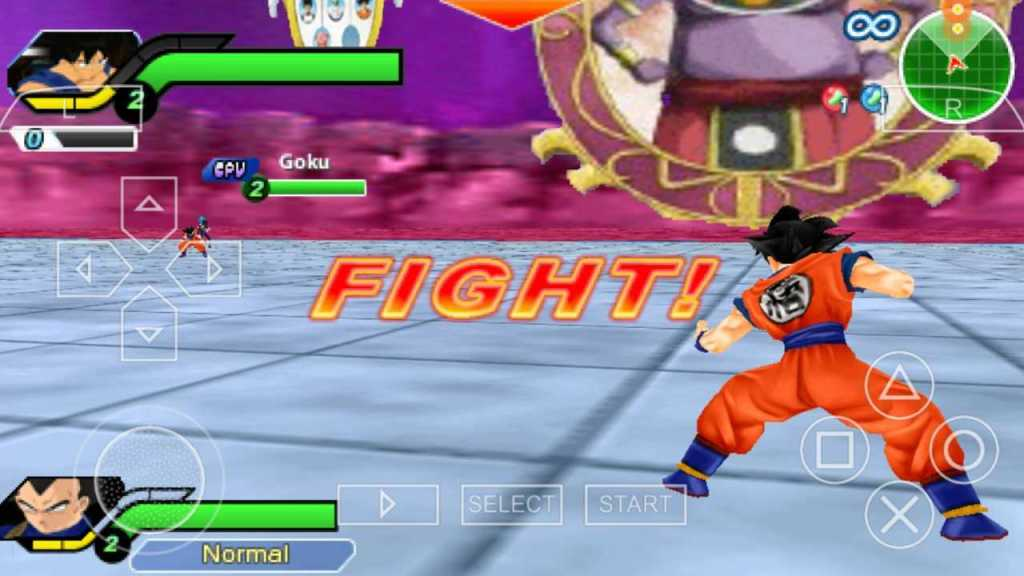 Dragon Ball Z Tenkaichi Tag Team one of the best PPSSPP Games download on android smartphones