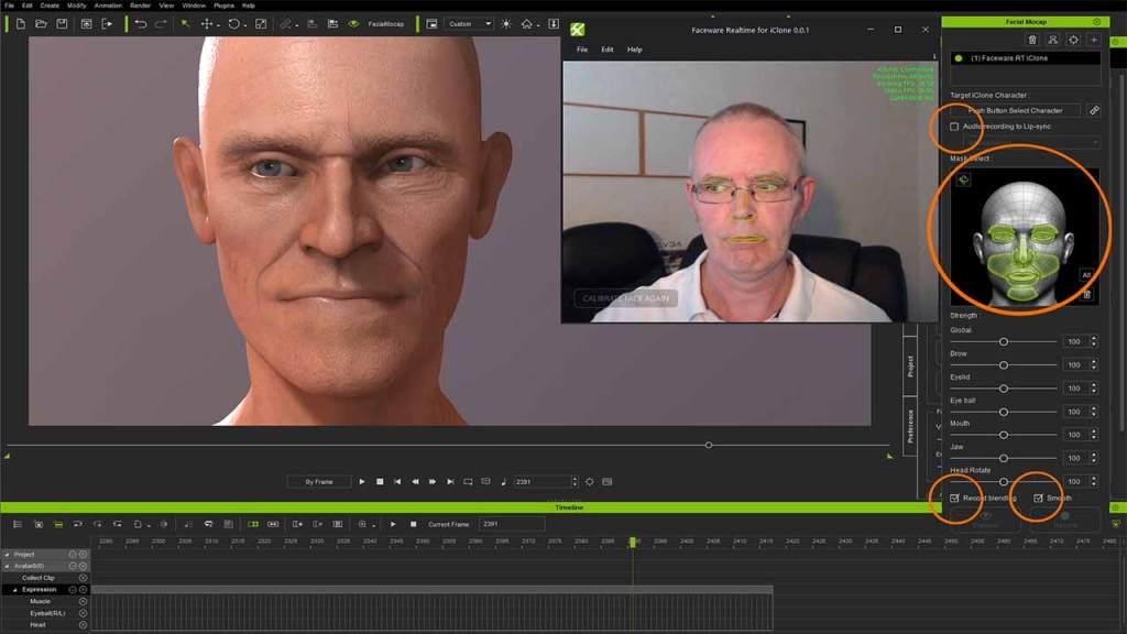 iclone facerig is a webcam video maker