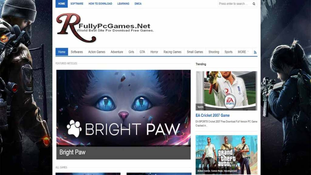 Fully PC games org is one of the best websites to download PC games for free