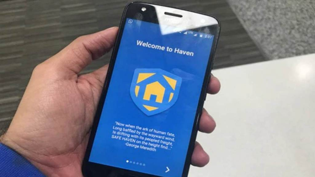 Haven is an amazing app for hacking and other things