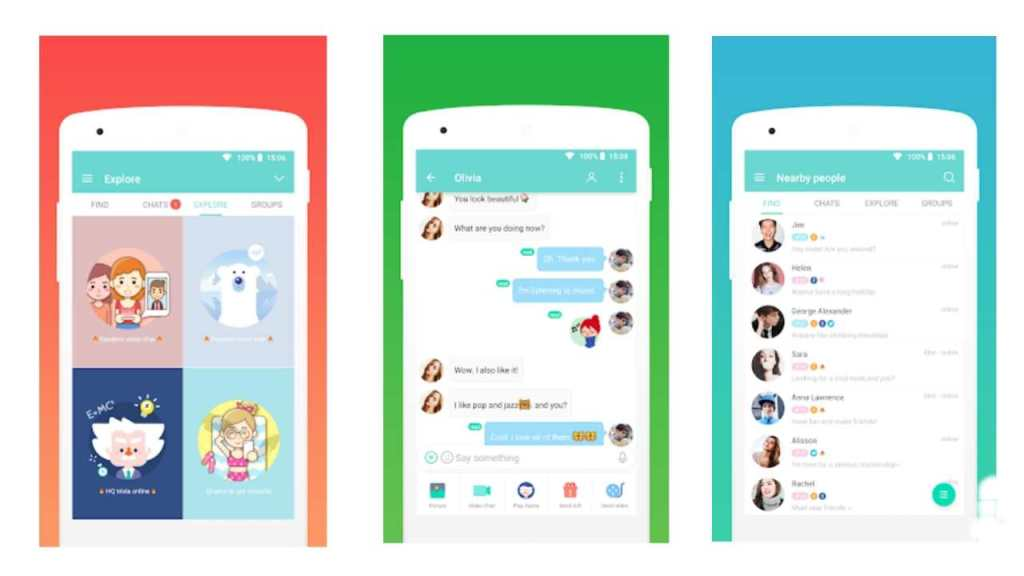 sayhi chat room app is an amazing app to talk with strangers