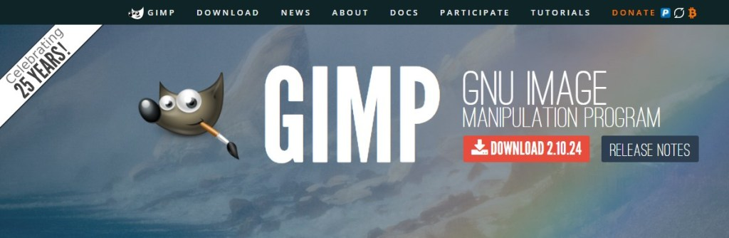 Gimp is one of the best tools to improve low resolution image quality in easy steps