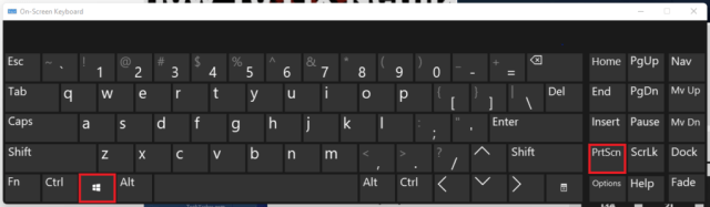 Windows + Print Screen - Capture full screen
