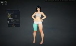 Character customisation: body.