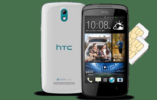 HTC Announces HTC Desire 500 With Quad-Core Processor