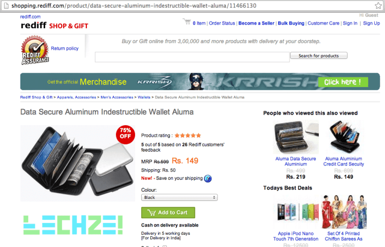 wallet-rediff-techzei
