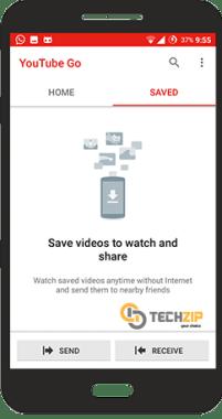 YouTube Go ; TechZip 4
