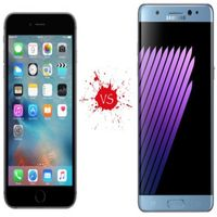 30% din fanii Samsung Galaxy Note 7 vor cumpăra iPhone 7