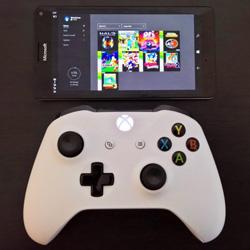 Jocurile Xbox One streaming pe Windows 10 mobile