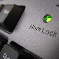 functia numlock