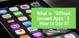 Offload Unused Apps