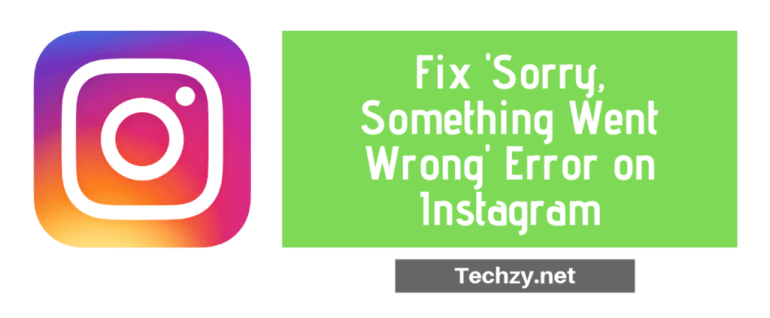something went wrong instagram