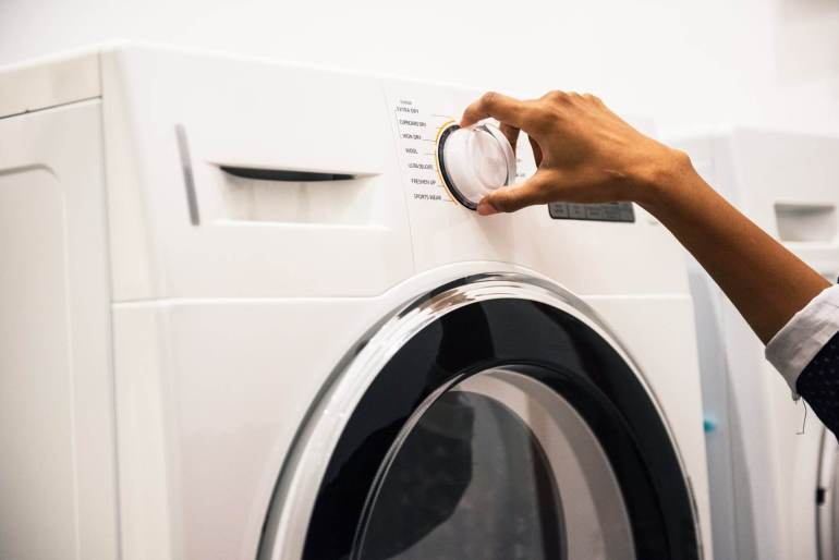Here's a serious question: Excuse me, what efficiency rating is your washing machine?