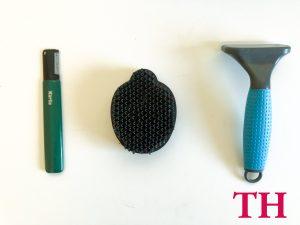 Que cepillos uso para Teckel pelo duro